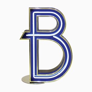 Letter B Graphic Lamp by DelightFULL