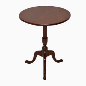 Antique Mahogany Tilt Top Side Table