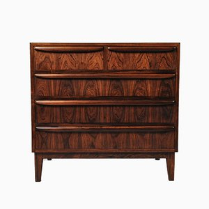 Mid-Century Danish Rosewood Chest of Drawers, 1950s