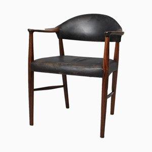 Palisander Schreibtischstuhl von Kurt Olsen für Slagelse Møbelværk, 1950er