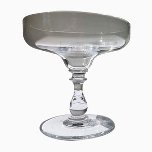 Antique French Crystal Champagne Glass, 1900s