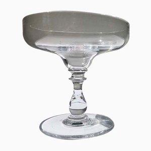 Verres à Champagne Antiques en Cristal, France, 1900s, Lot de 9