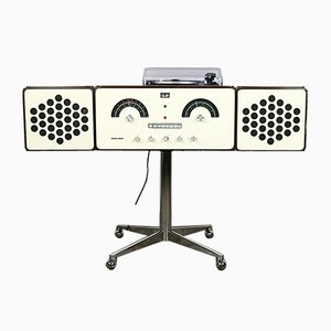 Radio Estéreo modelo RR 126 de Pier Giacomo & Achille Castiglioni para Brionvega, años 60