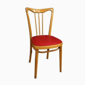 Italienische Sessel aus Kunstholz & Kunstleder, 1960er, 6er Set