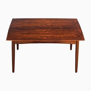 Extendable Rosewood Dining Table by Kai Kristiansen for FM Møbler, 1960s