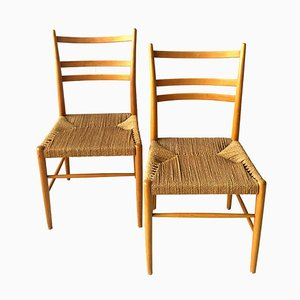 Vintage Swedish Dining Chairs, 1960s, Set of 6
