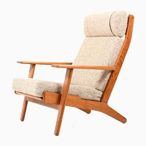 Mid-Century Teak Model GE-290 Lounge Chair by Hans J. Wegner for Getama