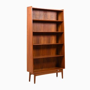 Mid-Century Danish Teak Conical Bookshelf by Johannes Sorth for Nexø Møbelfabrik Bornholm, 1960s