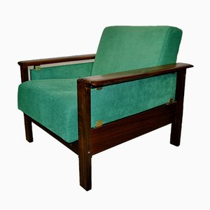 Danish Green Armchair, 1960s