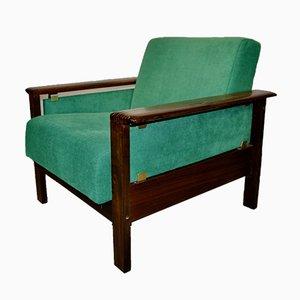 Danish Green Armchair, 1960s