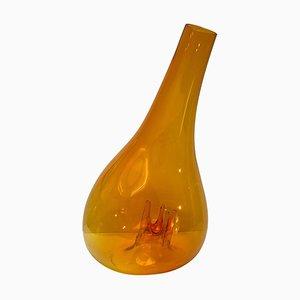 Vaso grande Otre in vetro di Murano di Toni Zuccheri per VeArt, anni '70