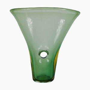 Forato Venini Murano Glass Vase by Fulvio Bianconi, 1952