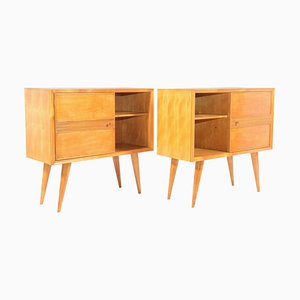 Italian Cabinets by Pier Giulio Magistretti, 1940s, Set of 2