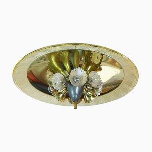 Lámpara de araña Plafoniere de Pietro Chiesa para Fontana Arte, años 40
