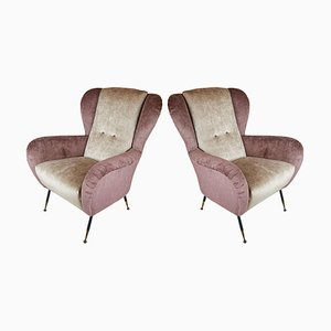 Italian Armchairs from Gallotti & Radice, 1950s, Set of 2