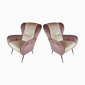 Italienische Sessel von Gallotti & Radice, 1950er, 2er Set