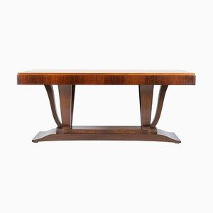 Tavolo da pranzo Art Déco allungabile, anni '30