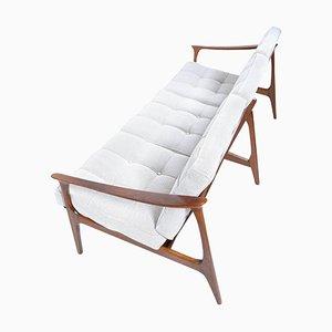 Mid-Century Italian 3-Seat Sofa, 1950s