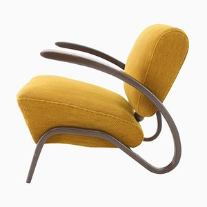 Art Deco H-275 Armchair by Jindrich Halabala for UP Závody, 1930s