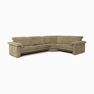 Canapé d'Angle en Tissu Vert de Rolf Benz