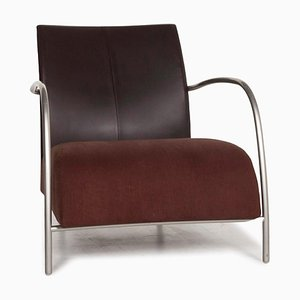 Dark Brown Leather Armchair from Montis
