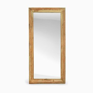 Spiegel mit Holzrahmen, 1940er