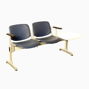 2-Sitzer Blue Axis 3000 Sofa von Giancarlo Piretti für Anonima Castelli, 1970er