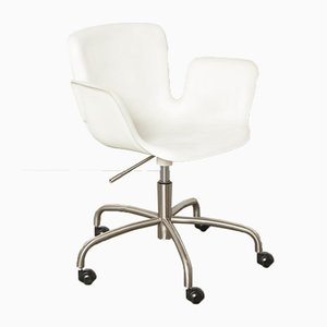 White Juli Desk Chair by Werner Aisslinger for Cappellini, 1990s