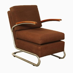 Low Tubular Armchair
