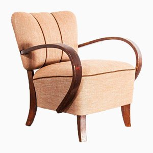 Armchairs by Jindrich Halabala, Czech, 1950s, Set of 2