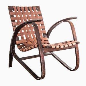 Bugholz Armlehnstühle von Jan Vanek für Up Zavody, 1950er, 2er Set