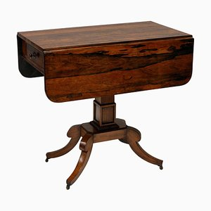 Antique English Rosewood Side Table