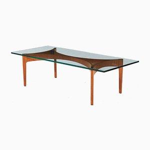 Tavolino da caffè di Sven Ellekaer per Christian Linneberg, anni '60
