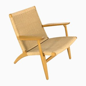 Danish Model CH25 Lounge Chair by Hans J. Wegner for Carl Hansen & Søn, 1960s