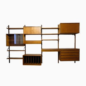 Modular Wall System by Poul Cadovius for Cado, 1950s