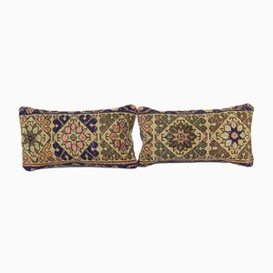 Turkish Rug Cushion Covers, Set of 2