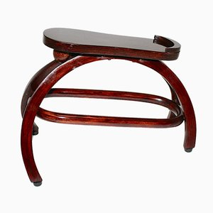 Antique Austrian Shoe Stool by Josef Hoffmann for Thonet, 1900s