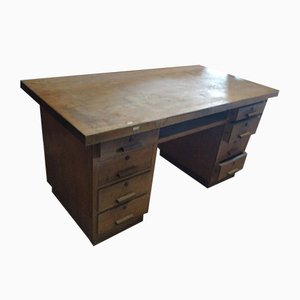 Italian Desk with Drawers, 1940s
