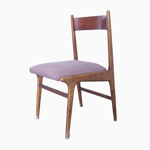 Mid-Century Teak Dining Chairs, Set of 6