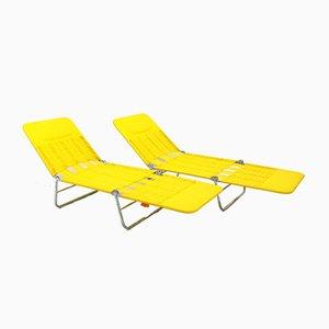 Deutsche Gartenstühle von KURZ, 1970er, 2er Set
