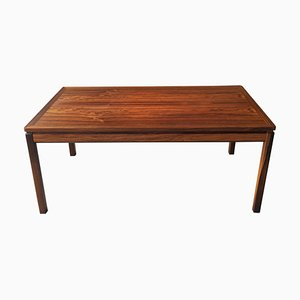 Swedish Rosewood Coffee Table by Yngvar Sandström for Seffle Möbelfabrik, 1960s
