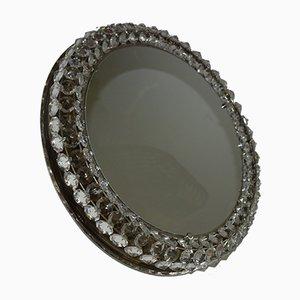 Großer Spiegel aus Kristallglas von Bakalowits & Söhne, 1960er