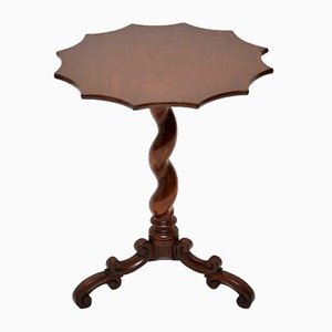 Antique Victorian Mahogany Twist Table