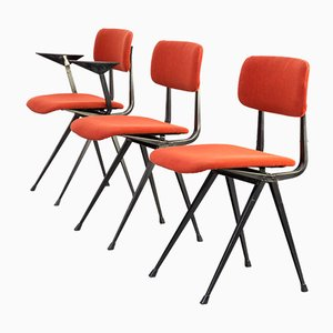 Model Result Chairs by Friso Kramer for Ahrend De Cirkel, 1950s, Set of 3
