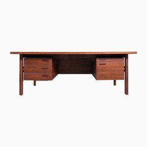 Vintage Palisander Schreibtisch von Arne Vodder für Sibast, 1960er