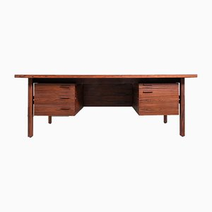Vintage Rosewood Desk by Arne Vodder for Sibast, 1960s