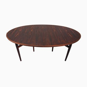 Danish Rosewood Model 212 Dining Table by Arne Vodder for Sibast, 1950s
