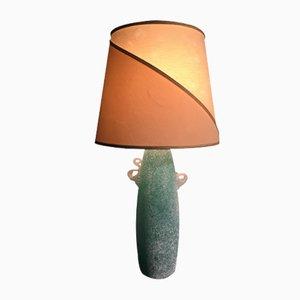 Mid-Century Murano Glas Tischlampe von Gino Cenedese