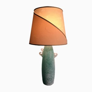 Mid-Century Murano Glass Table Lamp from Gino Cenedese