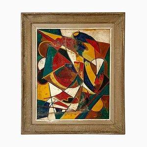 Constructivist Oil Painting